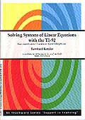"Cover of ""Solving Systems of Linear Equations with the TI-92"""