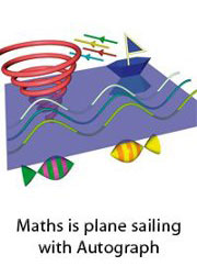 Maths is Plane Sailing with Autograph