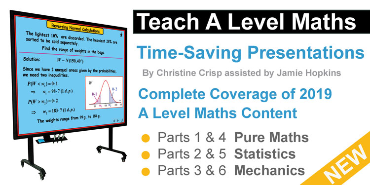 Teach A Level Maths Powerpoints