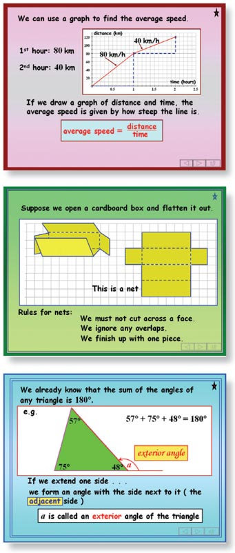 Teach GCSE Maths screens